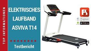 ᐅ Testvideo - elektronisches Laufband AsVIVA T14 - auf Deutsch ☑