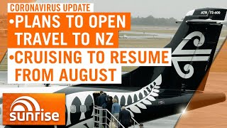 Coronavirus update - Tuesday May 4: Plans to open up travel to New Zealand | 7NEWS