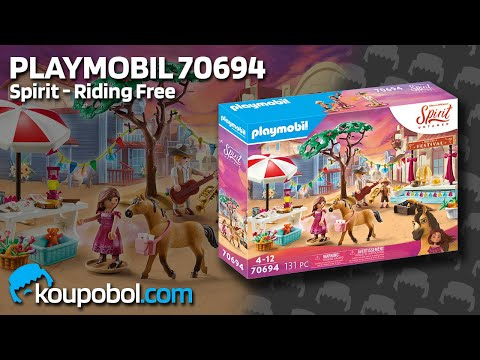 Vidéo PLAYMOBIL Spirit - Riding Free 70694 : Festival de Miradero