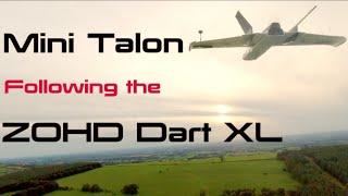 Mini Talon following ZOHD Dart XL - FPV
