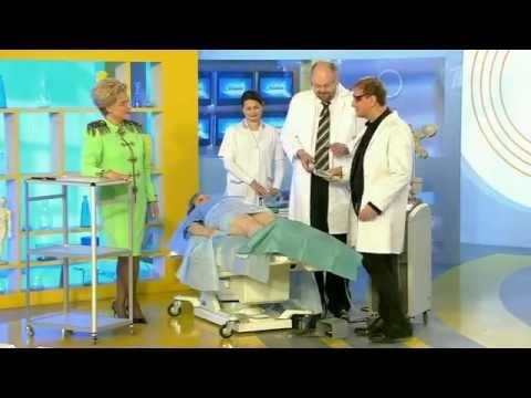 В халате врача. Венозная сеточка на ногах