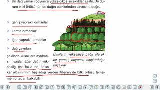 Eğitim Vadisi 10.Sınıf Coğrafya 11.Föy Yerkürenin Örtüsü 1 Konu Anlatım Videoları
