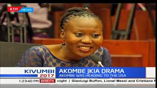 Akombe later allowed to jet off