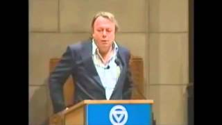 Christopher Hitchens disproves God in under 10 minutes - Video Youtube