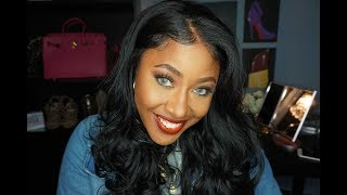 What Wig?! GLS74 $49 Pre-Plucked Looking Lace Front Wig – FridayNightHair.com