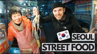 I Ate Alive Octopus In Gwangjang Market I Seoul
