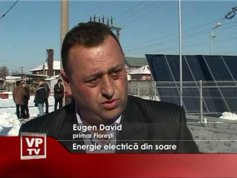 Energie electrică din soare