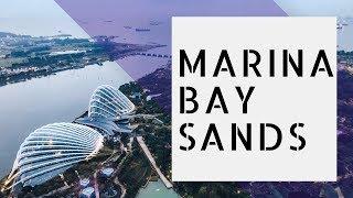 Сингапур    Marina Bay Sands    Бассейн на крыше
