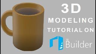 3D Modeling Tutorial On 3D Builder