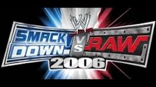 WWE SmackDown Vs Raw 2006 - Complete Roster - PS2