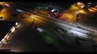 DJI PHANTOM 4 FLIGHT IN -15C DUSK LOW LIGHT WINTER FLIGHT HELLO LAL 8CHAN