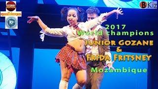 AFRICADANÇAR 2017 -World champions Junior & Frida (Mozambique) 🎥🇲🇿