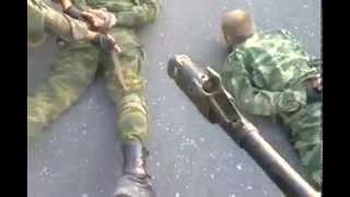 """Украинские военные взяли в плен """"ополченцев"""""""