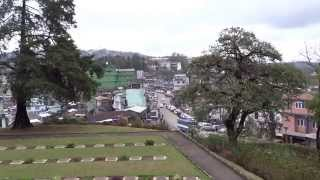 preview picture of video 'A Panoramic View of Kohima town'
