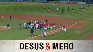 Yankees and Red Sox Brawl