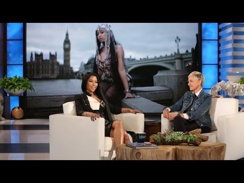 Nicki Minaj Introduces Ellen to the Rap Game