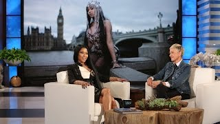 Nicki Minaj Introduces Ellen to the Rap Game