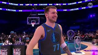NBA Skills Challenge! Tatum vs Doncic vs Fox vs Kuzma vs Jokic vs Young! 2019 NBA All Star Weekend
