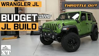 Lifted Jeep Wrangler JL Budget Build 🚙 | Daily Driven Custom Jeep Wrangler JL Build - Throttle Out