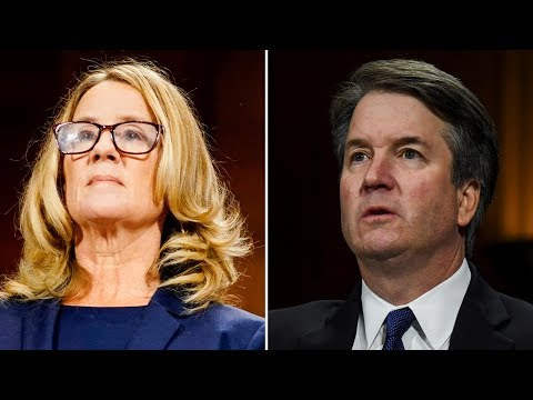 Brett Kavanaugh and Christine Blasey Ford face Senate panel