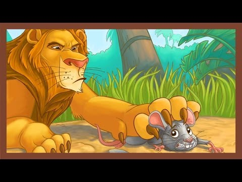 a lion and a mouse story moral