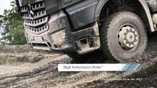 Mercedes Benz Arocs Nedförsbacke