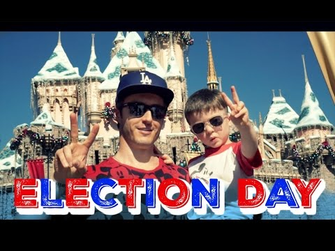 Disneyland on Election Day