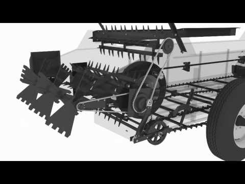 125ft cu ft PTO ABI Classic Manure Spreader – 360 3D Spin