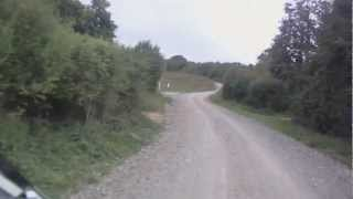 preview picture of video 'Tidworth - The Devil's Ditch (Byway, S-N)'