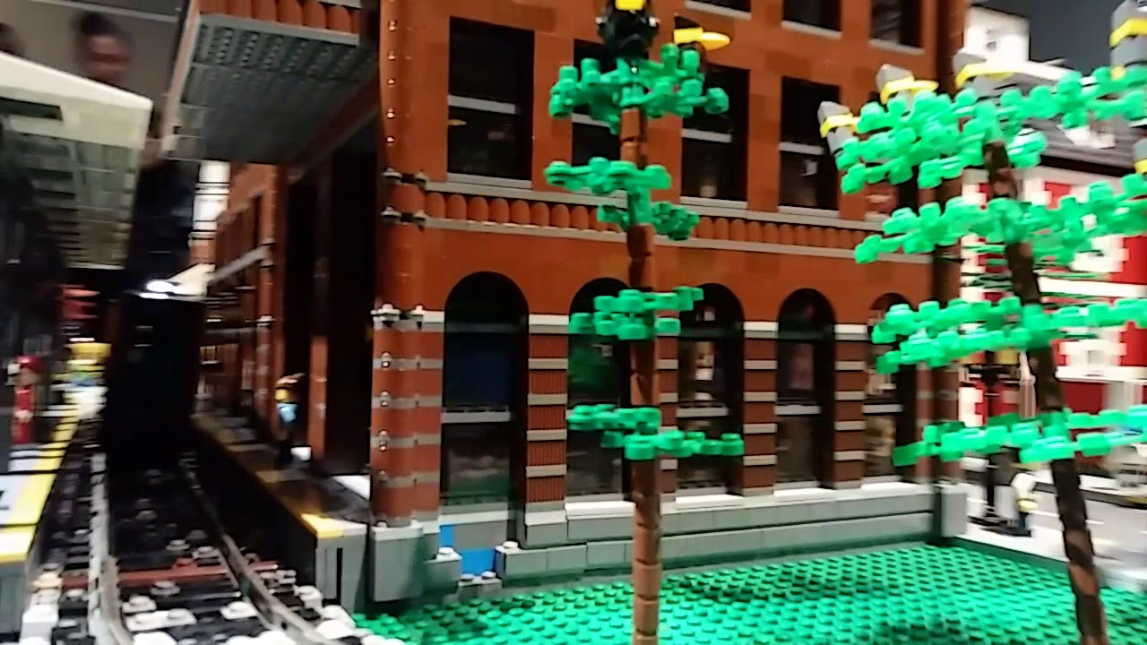 Riding the LEGO train at The Henry Ford Museum 2019