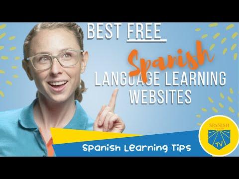 Best Free Spanish Language Learning Websites | Spanish Learning ...