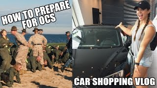 How to Prepare for OCS, Submarine Life, and Car Shopping Vlog - SFTW S2 Ep10
