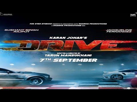 Video trailer för Drive Official Trailer | Shushant Singh Rajput | Jacqueline Fernandez | MSGFILMS INDIA