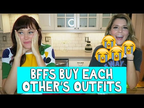 Download BFFs BUY EACH OTHER'S OUTFITS // Grace Helbig HD Mp4 3GP Video and MP3