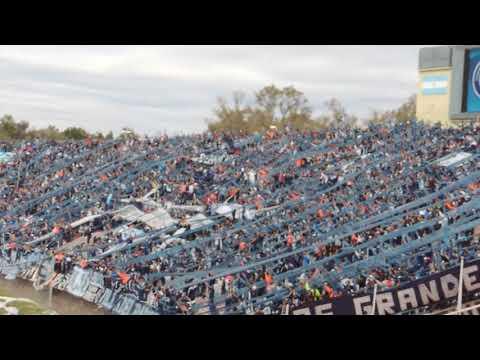 """""""los caudillos del parque vs huracán las heras (dale, dale lepraa)"""" Barra: Los Caudillos del Parque • Club: Independiente Rivadavia"""