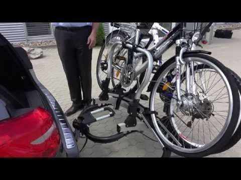 Der Original Mercedes-Benz Heckfahrradträger im Detail vorgestellt - Fahrradträger AHK