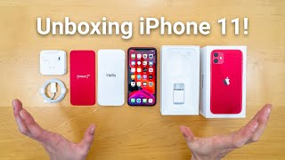 iPhone 11 Unboxing - What's Included!