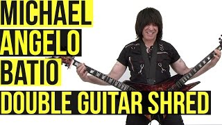 Gambar cover Michael Angelo Batio: Double Guitar Shred Medley