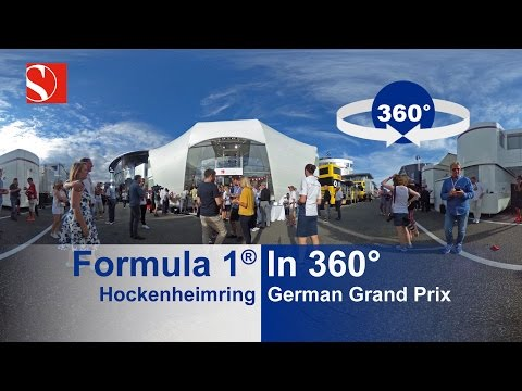 F1 in 360° - Hockenheimring - German Grand Prix - Sauber F1 Team