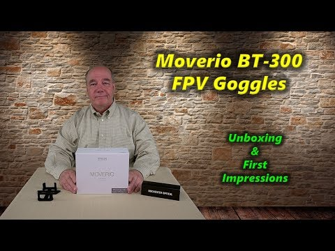Moverio Bt-300 FPV Goggles - Unboxing & First Impressions