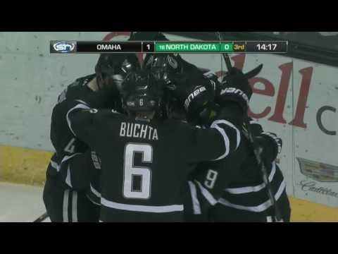 UND hockey - Highlights vs Omaha - 2/25/17