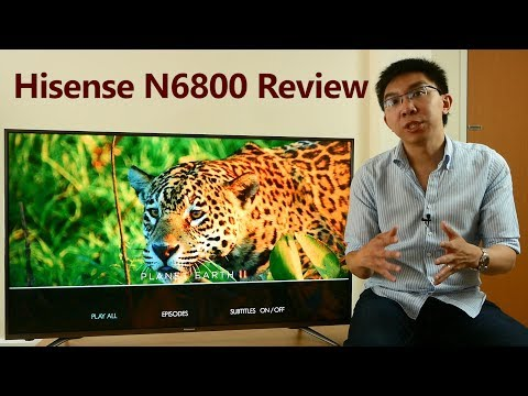 Hisense N6800 Review: 50″ 4K HDR TV for £600!