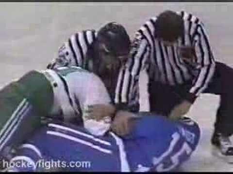 Tony Twist vs Jim McKenzie