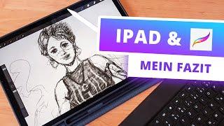 iPad Pro & Procreate für digitales Zeichnen: Mein FAZIT nach 3 Monaten