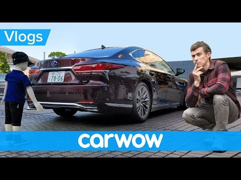 I drove the new Lexus LS and tested its safety systems - but one failed!   MatVlogs