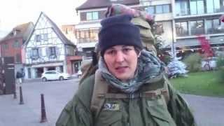 Kleine Tour ins Elsaß mit neuer Ausrüstung - TT Pathfinder Rucksack- Smock von Teesar