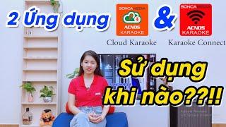 Ứng dụng chọn bài Karaoke Connect