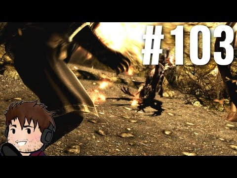 Let's Play Skyrim Part 103 - Which Cave?