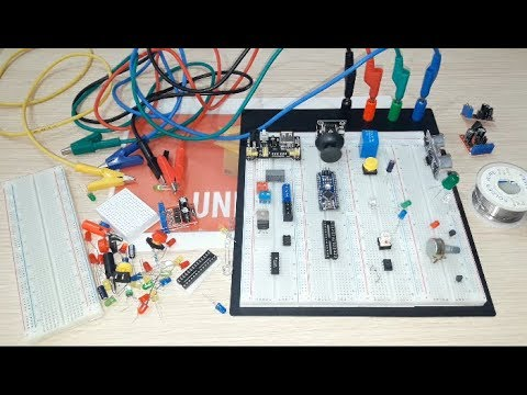 BANGGOOD review 3200 Hole Solderless Test Breadboard With PCB Prototype Board For Arduinov