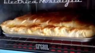 Выпечка в Минипечи 3 в1 от GFGRIL. Пирог с творогом.